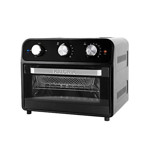 Kalorik AFO 46129 BK 22 Quart Air Fryer Toaster Oven, Black