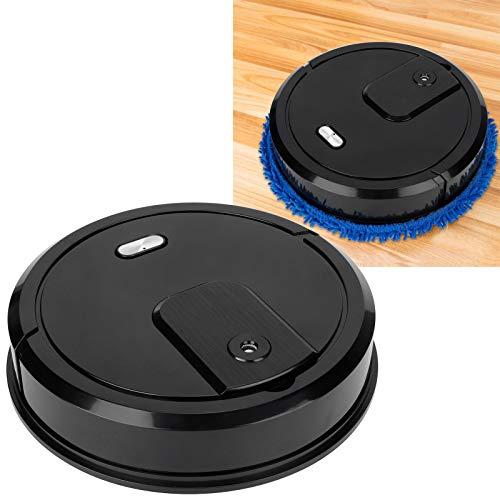 Surebuy Aspiradora, barredora 3 en 1 con función de pulverización para canicas para baldosas para tablones de Madera para Suelos(Black, Pisa Leaning Tower Type)