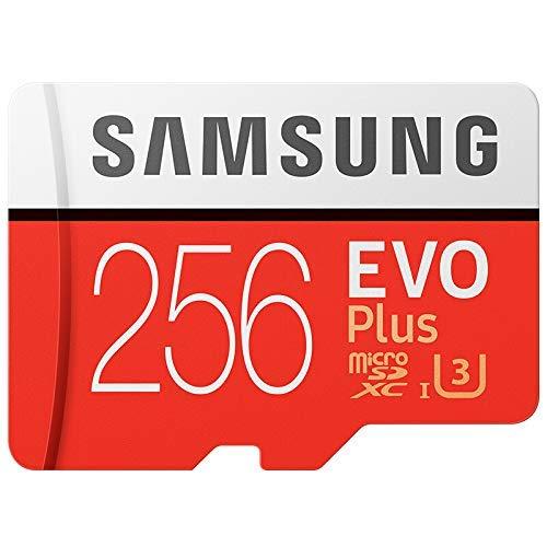Samsung 256GB EVO Plus Class 10 Micro SDXC with Adapter (MB-MC256GA)