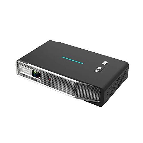 Inicio 3D HD proyector Smart, Bluetooth WiFi en Pantalla del proyector, la resolución es 1280x800, Compatible con 4K, el Brillo es de 600 lúmenes, Conveniente for la Oficina, Entretenimiento ZHNGHENG
