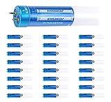 Hyperikon T8 4 Foot LED Bulb, 40 Watt Replacement (18W) Glass, T10 T12 Light...