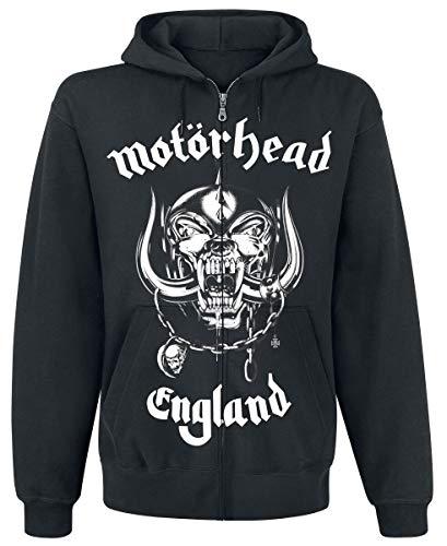 Motörhead England Männer Kapuzenjacke schwarz XL