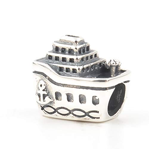 Pandora Jewelry Bracelet 925 Natural Qikaola Real Silver Cruise Ship Charms Beads Fit Original Pendant For Making Diy Gifts For Women
