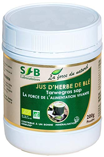 Laboratoires SFB - Jus d'herbe de blé bio (vitamines & mineraux)- 200g