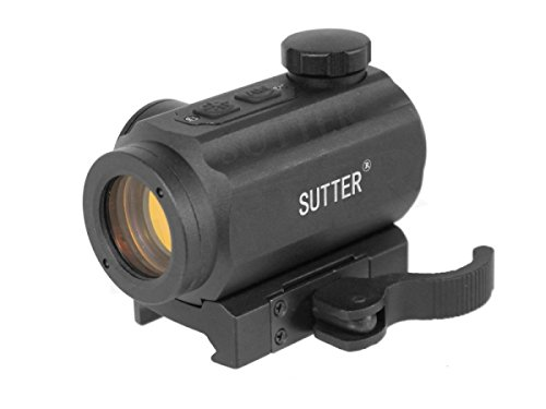 SUTTER Micro RedDot Zielvisier 1x20 - Schnellspannveschluss - RedDot Rotpunkt Zielfernrohr Zielgerät