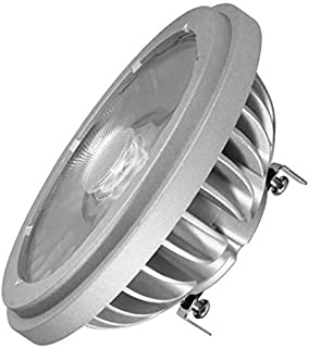 Best to Buy Aluminum Non-Dimmable GU10 Base AR111 15W=80W 1300LM 60/° Beam Angle LED Bulb,White,6000K