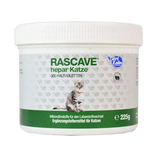 NutriLabs Rascave Hepar - Katze - 90 Tabletten