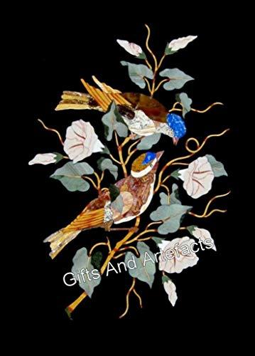 45,7 x 60,9 cm con patrón de pájaro, panel de pared antiguo para regalo