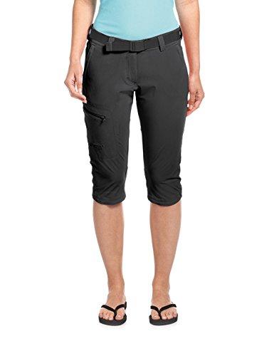 Maier Sports Damen Inara slim 3/4 Bermuda Shorts, black, 38