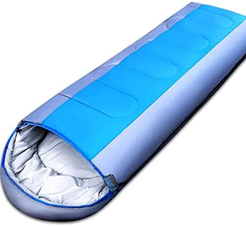 Camping im Freien ultraleichter Schlafsack im Freien Umschlag Schlafsack wasserdicht im Innen- und Außenbereich, geeignet zum Wandern und Camping
