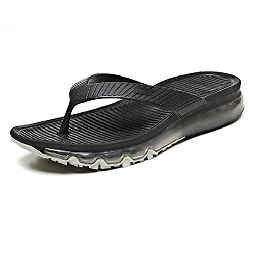 HJKGKIL 2021 Zapatillas de aire para hombre, de verano, de moda, con cojín de aire de palma, sandalias y zapatillas de playa, zapatos de playa con cojín de aire de palma completa