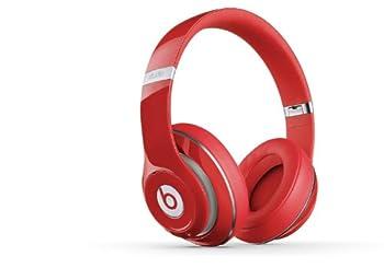 Beats Studio 2.0 WIRED Over Ear Headphone - Red NOT WIRELESS  Renewed