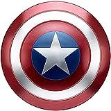 Captain America Shield Metal 75 Aniversario 1: 1 Versión De Películas Marvel Avengers Props Playing SuperHerodeo Props Shield Tamaño Adulto 47.5cm / 18.7 Pulgadas,47.5cm