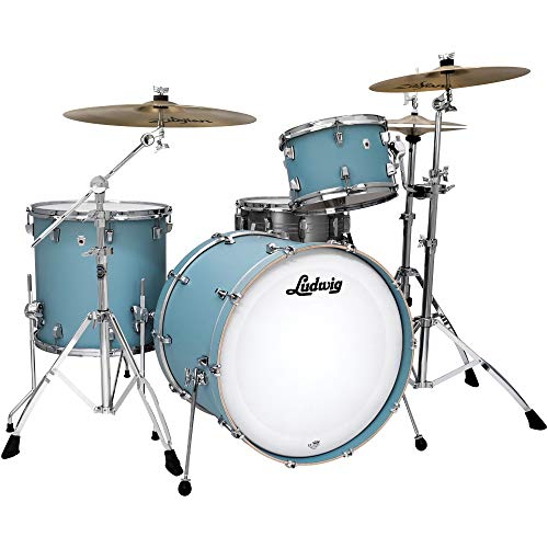 Ludwig NeuSonic DownBeat 20 Skyline Blue 3 Drum Kit