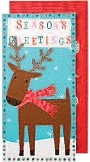 MeriMeri クリスマス グリーティングカード reindeer refill pack