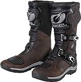 O'NEAL | Botas de Motocross | Enduro Motocross | Zona del talón ergonómica, suela con inserto antideslizante, membrana impermeable y transpirable| Botas Sierra Pro | Adultos | Marrón | Talla 42