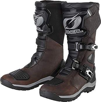 Oneal Sierra Pro Bottes imperméables de Motocross Marron 45