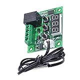 Lorsoul 12V CC Digital LCD del termostato Interruptor de Control de Temperatura del módulo del Sensor W1209, -50 a 110 ℃ Rango, con el Caso