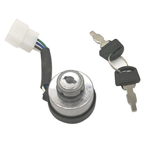 Cancanle Cerradura Llave para Honda GX390 5 Kw 6,5 Kw generador de Motor Llave de Bloqueo para GX160 2 – 2,8 Kw 3 Kw Motor de Gasolina Interruptor de Llave