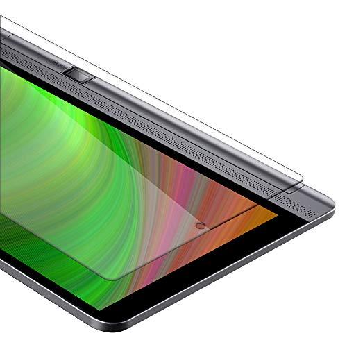 Cadorabo Película Protectora para Lenovo Yoga Tab 3 Pro (10.1' Zoll) en Transparencia ELEVADA - Vidrio Templado (Tempered) Cristal Antibalas Compatible 3D con Dureza 9H