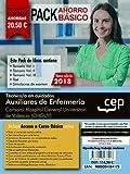 PACK AHORRO BÁSICO. Técnico/a en cuidados auxiliares de enfermería. Consorci Hospital General Universitari de València (CHGUV). (Incluye Temarios I, II, III, Test y Simulacros)