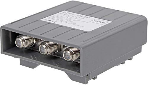 Venton DiseqC 2/1 Schalter Switch HD 4K 3D 2 Eingänge 1 Ausgang Umschalter für LNB Signal mit Wetterschutzgehäuse 2 Satelliten 1 Teilnehmer Sat-Receiver kein Multischalter