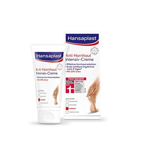Hansaplast Anti Hornhaut Intensiv-Creme (75 ml), Creme zur Hornhaut Entfernung an den Füßen, feuchtigkeitsspendende Hornhaut Creme mit 20% Urea