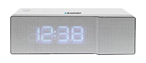 Blaupunkt CRP8WH Uhren-Radio (LED-Display, UKW, FM) weiss, mit Programmspeicher, Radiowecker, Snooze Uhrenradio