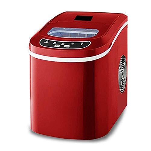 DBSCD Ice Machine Portable Desktop Auto - 8 Minuten schnelles EIS - 33 lbs.23 Pfund.- Geeignet für kleine gewerbliche/Home/Office/Bar