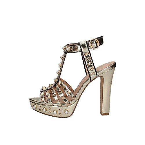 Liu Jo S18085 P0301 Sandales Femme Platine 40