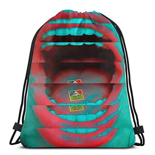 Anime LSD Psycho Drstring Bag Sport Fitn Bag Reisetasche Geschenktüte
