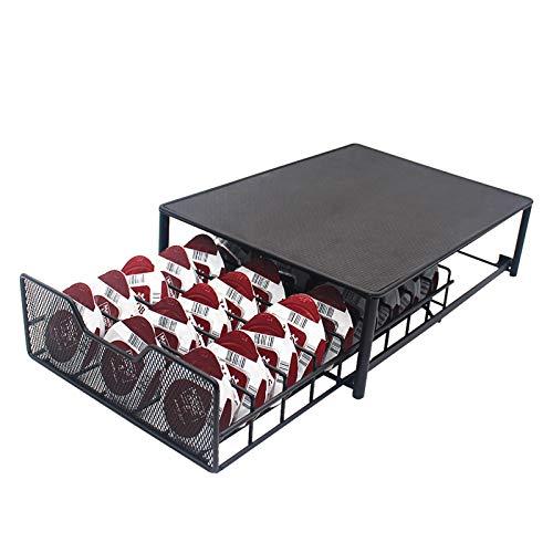 Cajón de almacenamiento de cápsulas de café, soporte para cápsulas de café para Tassimo 54 piezas, soporte para máquina de café organizador de cápsulas (TASSIMO-54) (Holder-TASSIMO-54)
