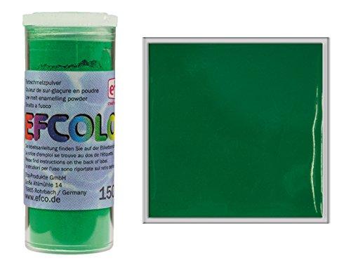 Efcolor 10ml Blickdicht Niedriger Temperatur einbrennlackierung Puder, Gras Grün