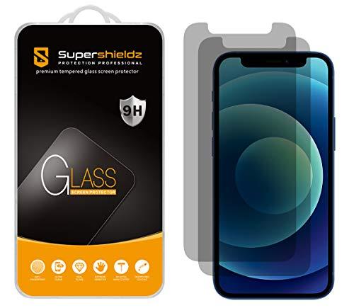 (2 Pack) Supershieldz for iPhone 12 Mini (5.4 inch) (Privacy) Anti Spy...
