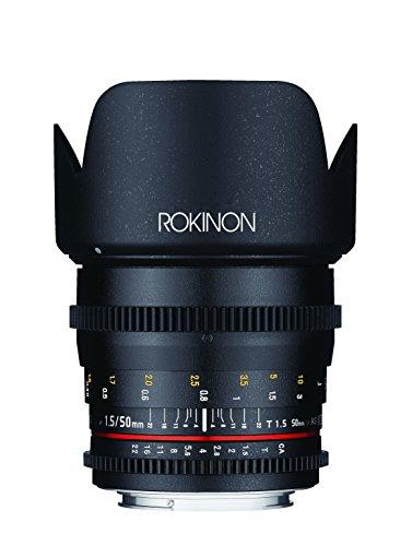 Rokinon Cine DS 50 mm T1.5 Objektiv für Canon