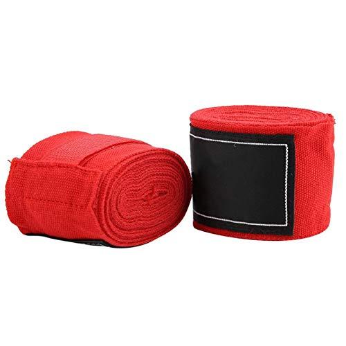 01 Vendas de Mano de Boxeo, envolturas de algodón de Boxeo duraderas, para competiciones...