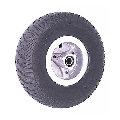 Neumáticos de scooter eléctrico, Neumáticos antideslizantes resistentes al desgaste 9x3.50-4+Llantas de aleación de aluminio, Adecuado para accesorios de rueda de scooter 9 pulgadas,solid wheel