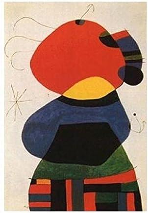 Character /& Bird Personnage Et Oiseau by Joan Miro 20x16 Museum Art Print