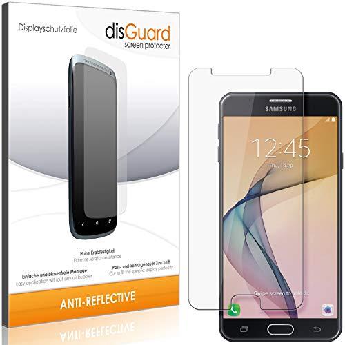 disGuard Panzerglas-Folie für Samsung Galaxy On7 Prime [2 Stück] Bildschirm-Schutzfolie, extrem Kratzfest, Anti-Reflex, MATT, Reflektionsmindernd
