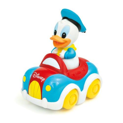 Clementoni - 14271-Voiture musicale de Donald -PREMIER AGE DISNEY BABY