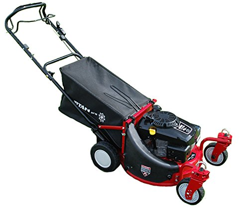 22' Lawnmower | Zero Turn Lawn Mower | Self-Propelled Mower with KOHLER Courage XT775 Engine Titan...