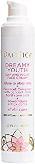 Pacifica Beauty Dreamy Youth Day & Night Moisturizing Face Cream, For All Skin Types, Vegan & Cruelty Free, 1.7 Fl Oz