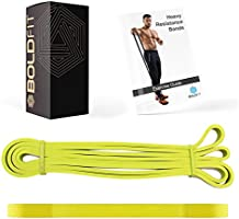 Boldfit Heavy Resistance Band for Exercise & Stretching, Suitable in Home & Gym Workout for Men & Women.