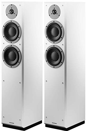 Set da 2 pezzi, colore: bianco Estratti IEC a lungo termine > 200 W Sensibilità (2,83 V/1 m) 86 dB Dimensioni (L x A x P): 204 x 960 x 275 mm Impedenza (nominale) 4 Ohm.