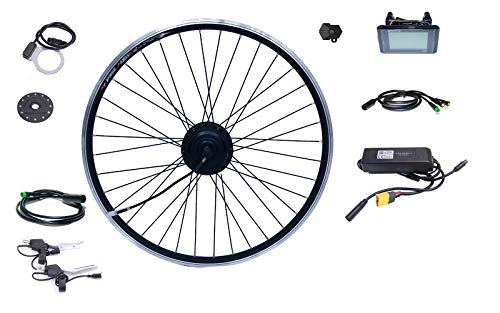 Bafang Kit de conversión para bicicleta eléctrica de 27,5 pulgadas, 650B, 500...