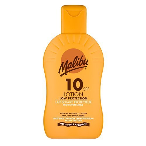 Malibu Protective Sun Lotion with SPF10 200 ml by Malibu