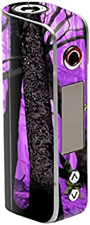 MightySkins Skin Compatible with Sigelei Spark 90W TC – Purple Tree Camo | Protective, Durable, and Unique Vinyl Decal wrap Cover | Easy to Apply, Remove, and Change Styles | Made in The USA