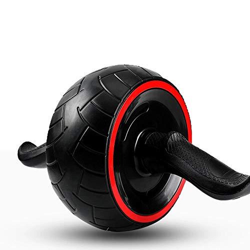 Rodillo Ab para ejercicios abdominales, Equipo de ejercicios con ruedas de rodillos Ab para eje...