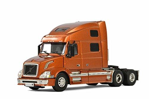 WSI Models Volvo VN-780 6x4 Three Axle Truck, Copper 33-2031 - 1/50 Scale Diecast Model Toy Car