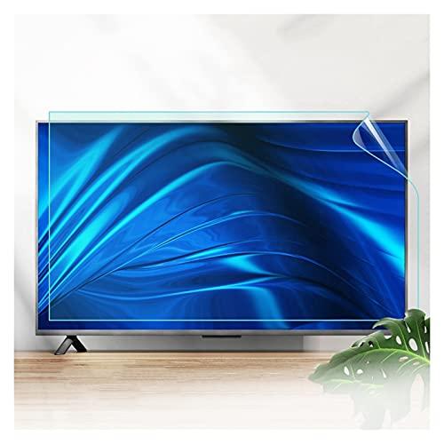 ASPZQ Protector de Pantalla TV Luz Azul Anti 32-75 Pulgadas, Protección para Los Ojos Sin Burbujas Anti-arañazos para LCD, Led, 4k OLED, QLED, Personalizable
